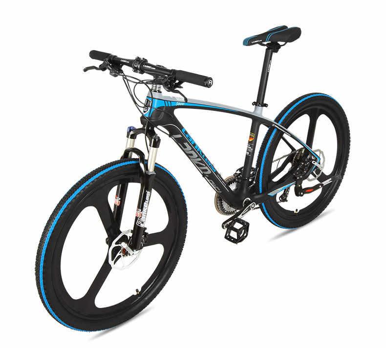 Merek Baru Mountain Bike Carbon Fiber Bingkai SHIMAN0 Hidrolik 26 Inch Roda 27 Kecepatan Sepeda MTB Olahraga Bicicleta