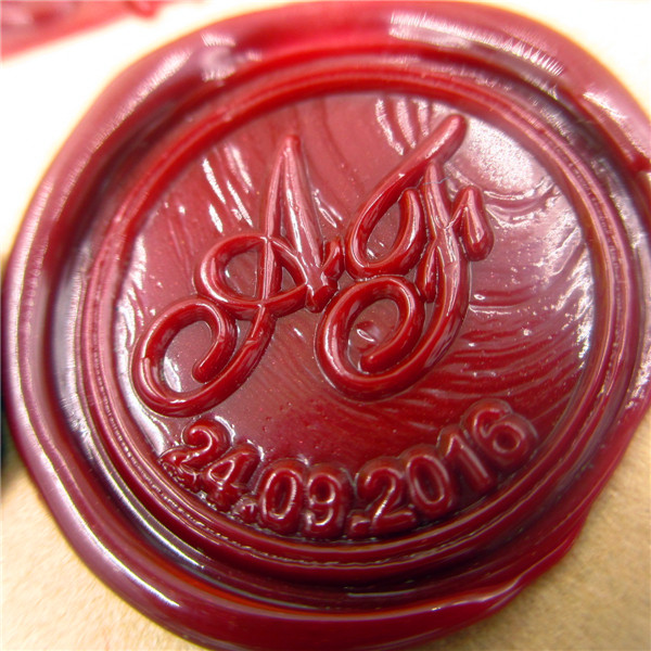 DIY double letter Initial customize your logo Name Box set personalized Letter/Sealing Wax /wedding Wax Seal Stamp Gold  Custom