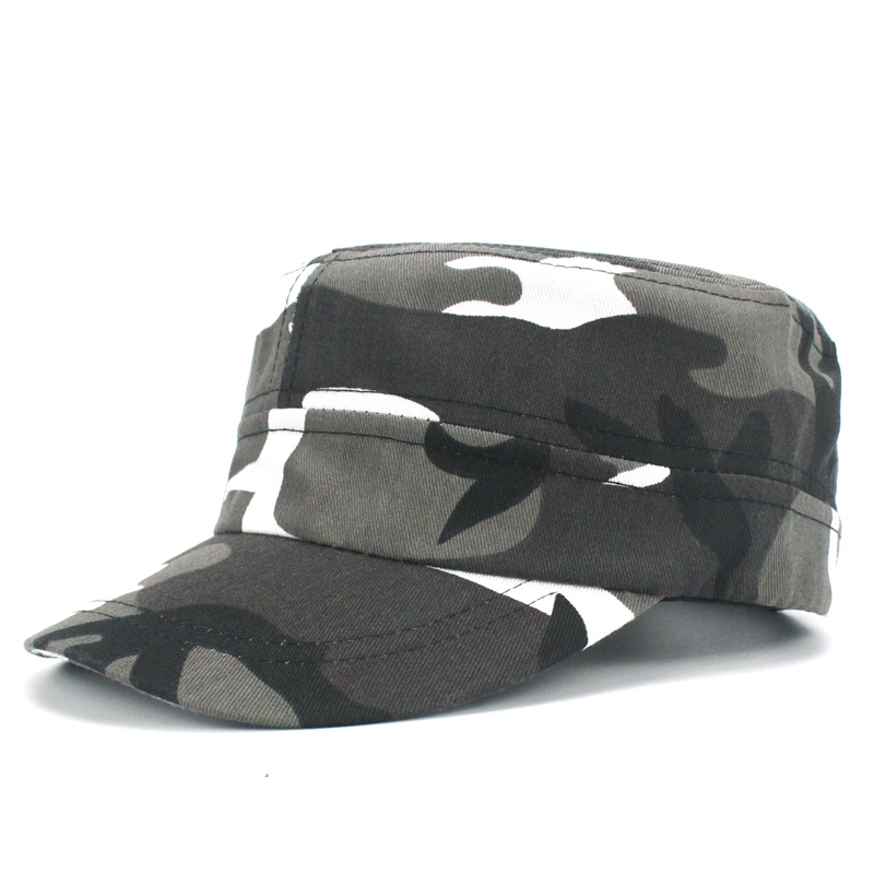 d999187e2bb Camo Camouflage Military Hats Men Tactical Cap Snapback Hat High Quality  Bone Dad Hat Trucker Navy Army Air Force Flat top hat-in Military Hats from  Apparel ...