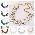Estrela grande venda 2016 jóias Bijoux colares e pingentes de cristal flor gargantilhas colar Maxi presente