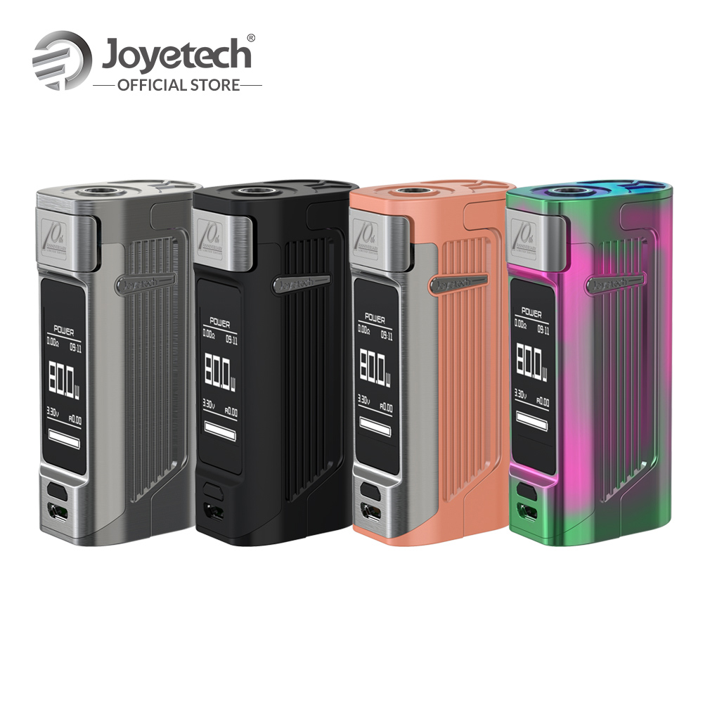 Original Joyetech ESPION Solo Box Mod by 21700/18650 Battery Not included Output 80W Wattage 1.3 inch OlED Electronic Cigarette