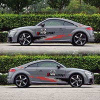 TAIYAO car styling sport car sticker For Audi TT TT RS car accessories and decals auto sticker