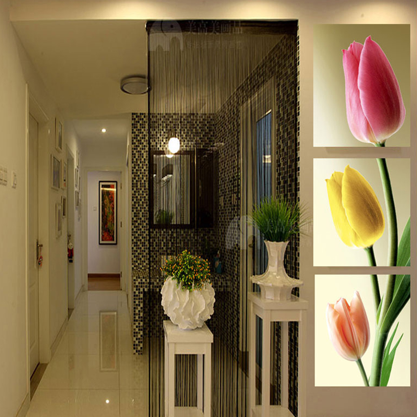 3 Panels Wall Picture Flowers Tulips Canvas Prints Painting Wall Art Canvas painting Home Decoration Wall Decor Pictures
