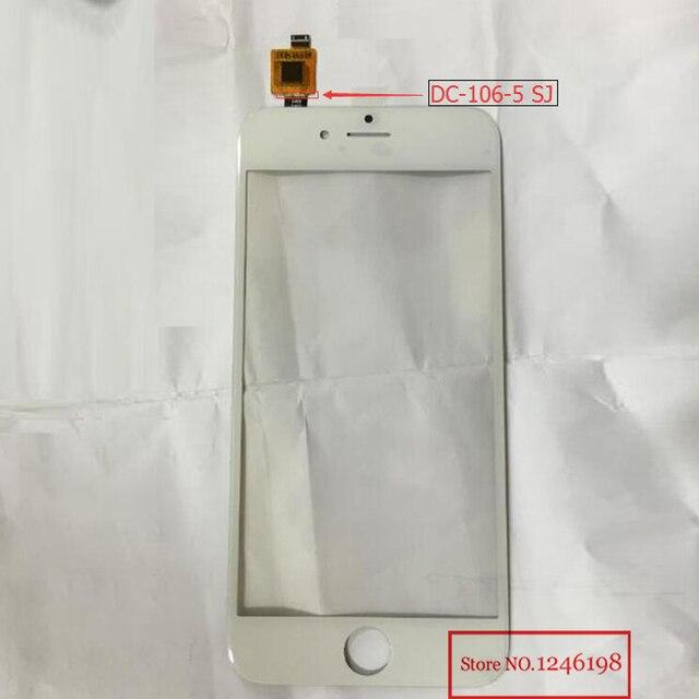 ea7c096ee93 Negro/blanco china andriod smartphone táctil digitalizador cristal de la pantalla  para iphone 6 con