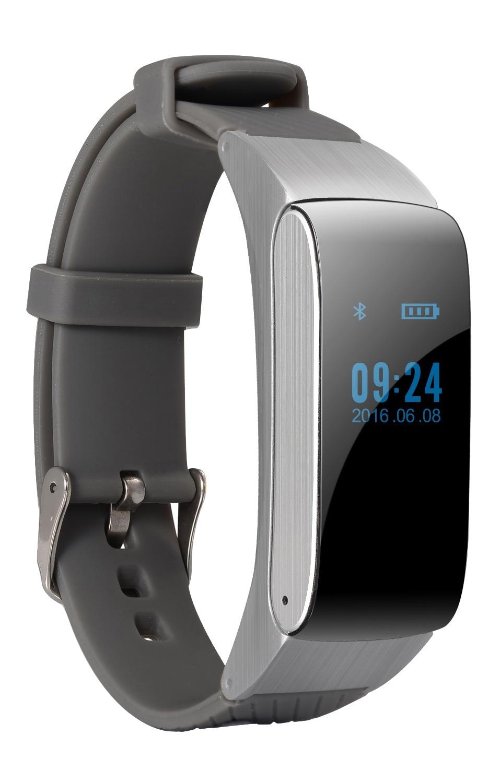 Smartch Smart Band Bluetooth Smart Bracelet DF22 Portable Talk Smartband Pedometer Active Fitness Tracker For IOS