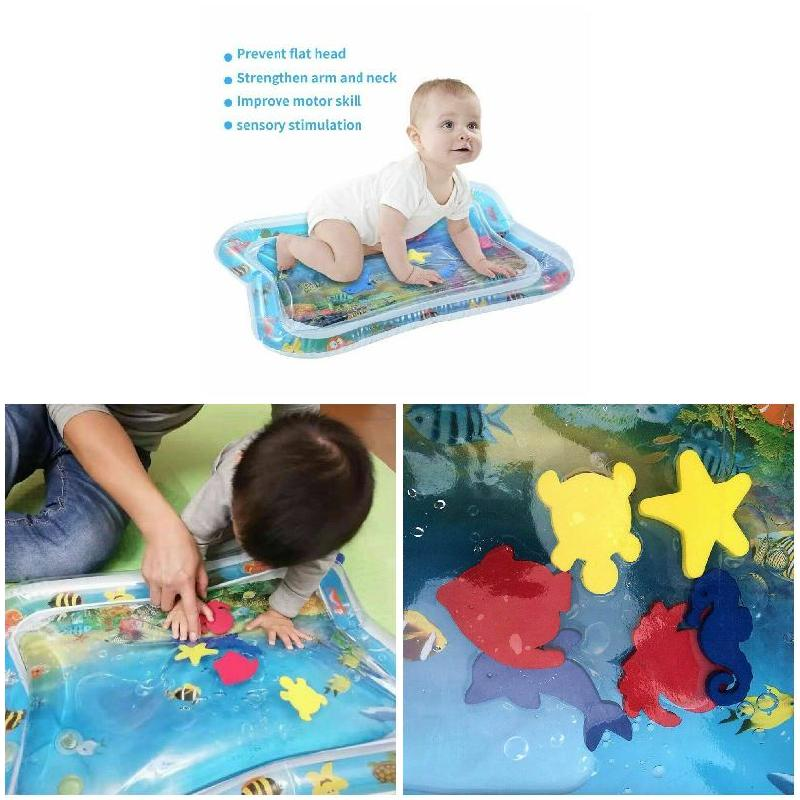 Water Filled Baby Inflatable Patted Pad Inflatable Water Cushion Playmat For Kids BM88
