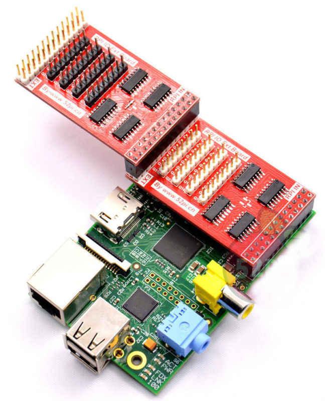 Raspberry Pi Infinity Cascade RPI GPIO Expansion Board IO Extend Adapter  Module