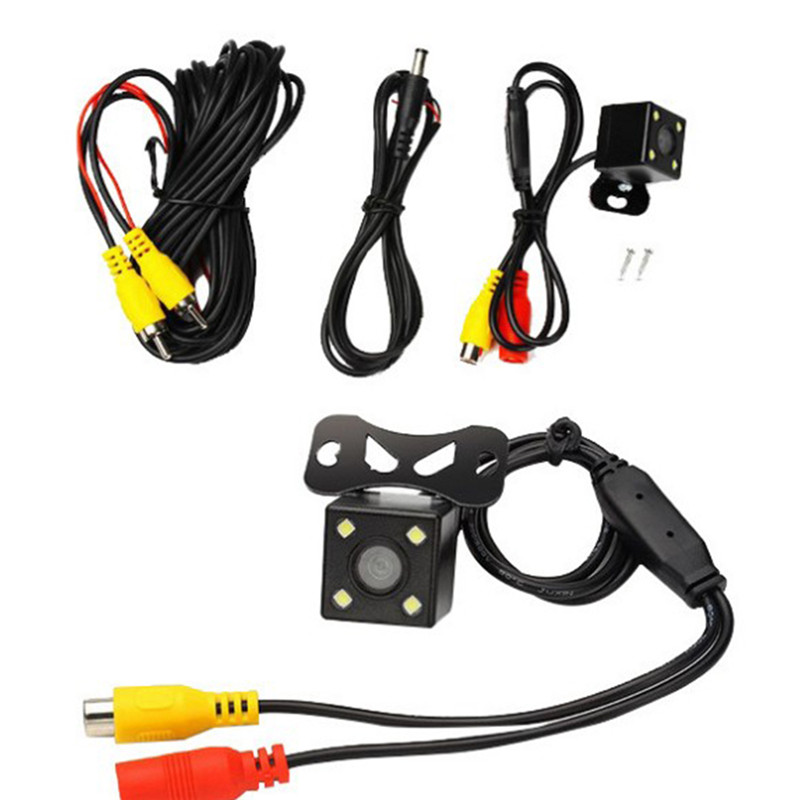 New Intelligent Reversing Track Backup Camera 4 LED 170 Degree Wide Angle Car Rear View Camera HD Comes with Dynamic TrajectoryNew Intelligent Reversing Track Backup Camera 4 LED 170 Degree Wide Angle Car Rear View Camera HD Comes with Dynamic Trajectory