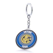 Internazionale Milano Football Club Soccer Team Logo Metal Pendant Keychain For Soccer Fans цена в Москве и Питере