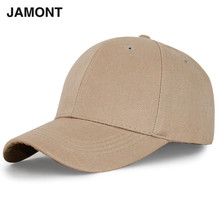JAMONT 2017 Solid Color Baseball Caps 7 Style Colors Adjustable Cotton Unisex Egg Hats Snapback Casquette Soft Casual Polo Caps