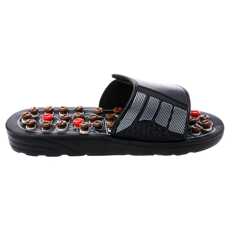 0f2146403536 HUAMIANLI Reflexology Sandals Foot Massager Slipper Acupressure Foot  Acupuncture Shoes Massager 1Pair -in Massage   Relaxation from Beauty    Health on ...