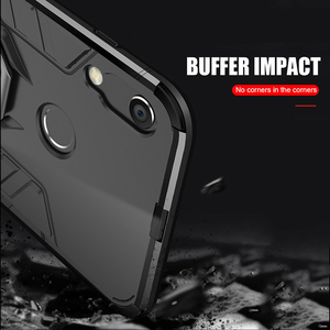 Image 5 - honor 8A Case For Huawei honor 8A case Armor Ring Magnetic Car Hold Shockproof Soft Bumper Phone Cover For Huawei honor 8A Case