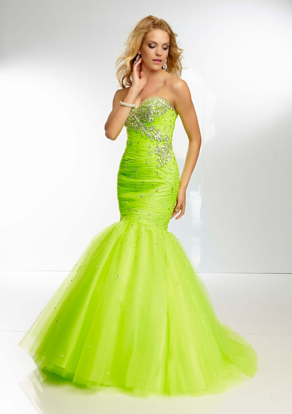 Aliexpress.com : Buy Sparkly Crystals Beaded Lime Green ...