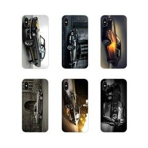 Etui z termoplastycznego poliuretanu torba do Apple iPhone X XR XS MAX 4 4S 5 5S 5C SE 6 6 S 7 8 plus ipod touch 5 6 Ford Mustang 1966 Super samochód 4 K tapety
