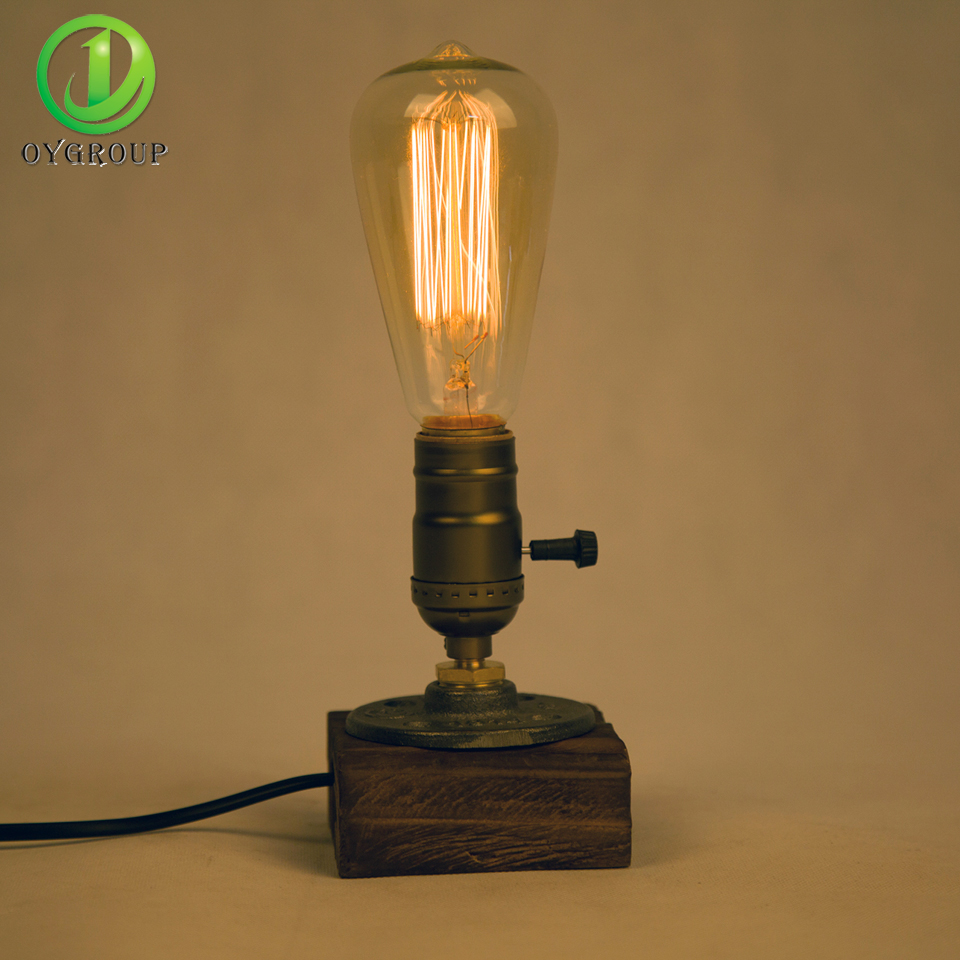 Online Get Cheap Edison Light Bulb Table Lamp Aliexpress – Light Bulb Desk Lamp