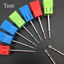 9Type Diamond Nail Drill Bit Rotate Burr Milling Cutter Bits For Manicure Electric Nail Drill Accessories Nail Tools