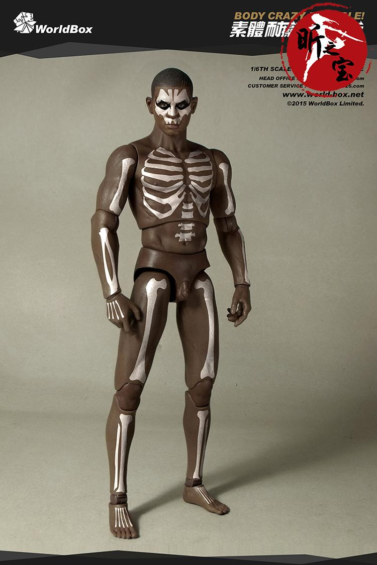 Worldbox AT007 1:6 Totem Male Body Aerobics Body with Head Sculpture Action Figure Model
