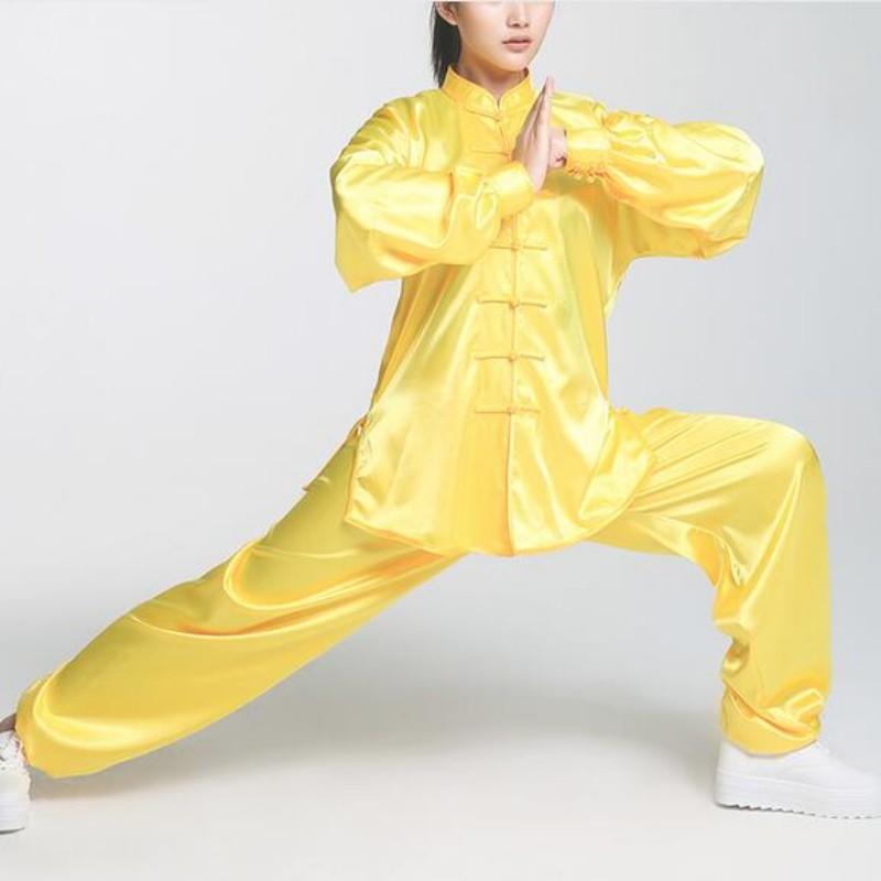 New Arrival Wu Shu Clothing Performance Suits Sport Trousers For Women Rayon Comfortable Tang Style Costumes Female Judo Sets