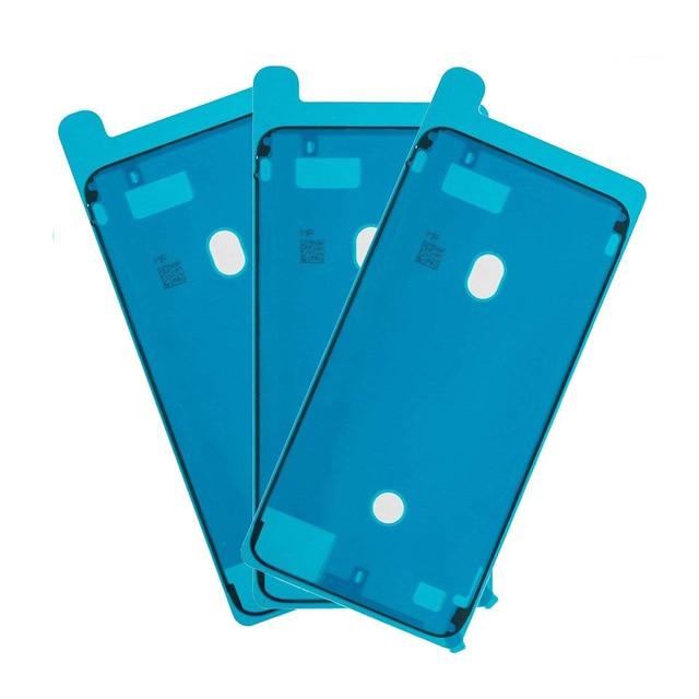 Tiras adhesivas de pantalla precortadas, impermeables, para iPhone 7, 7p, 8, 8 Plus, adhesivo de reparación de daños líquidos por agua
