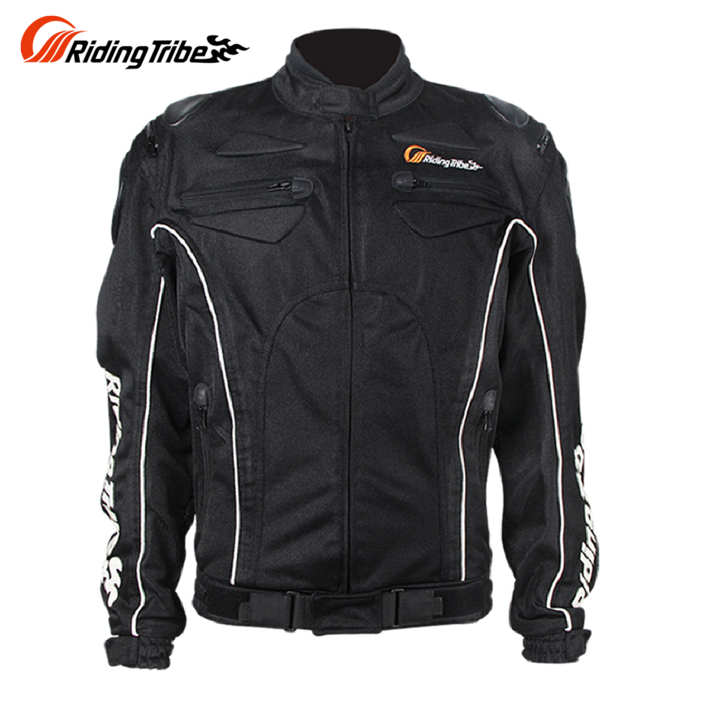 Riding Tribe Summer Breathable Motorcycle Racing Protective Armor Jacket Knight Riding Motorbike Motorcycle Jacket rsj285 jacket summer motorcycle jacket men riding windbreaker with 5 sets of protective equipment