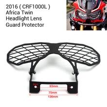 KEMiMOTO 2016 Afrika Twin CRF1000L Motorrad Scheinwerferlinse Schutzfolie für Honda 2016 CRF 1000L Afrika Twins schutz
