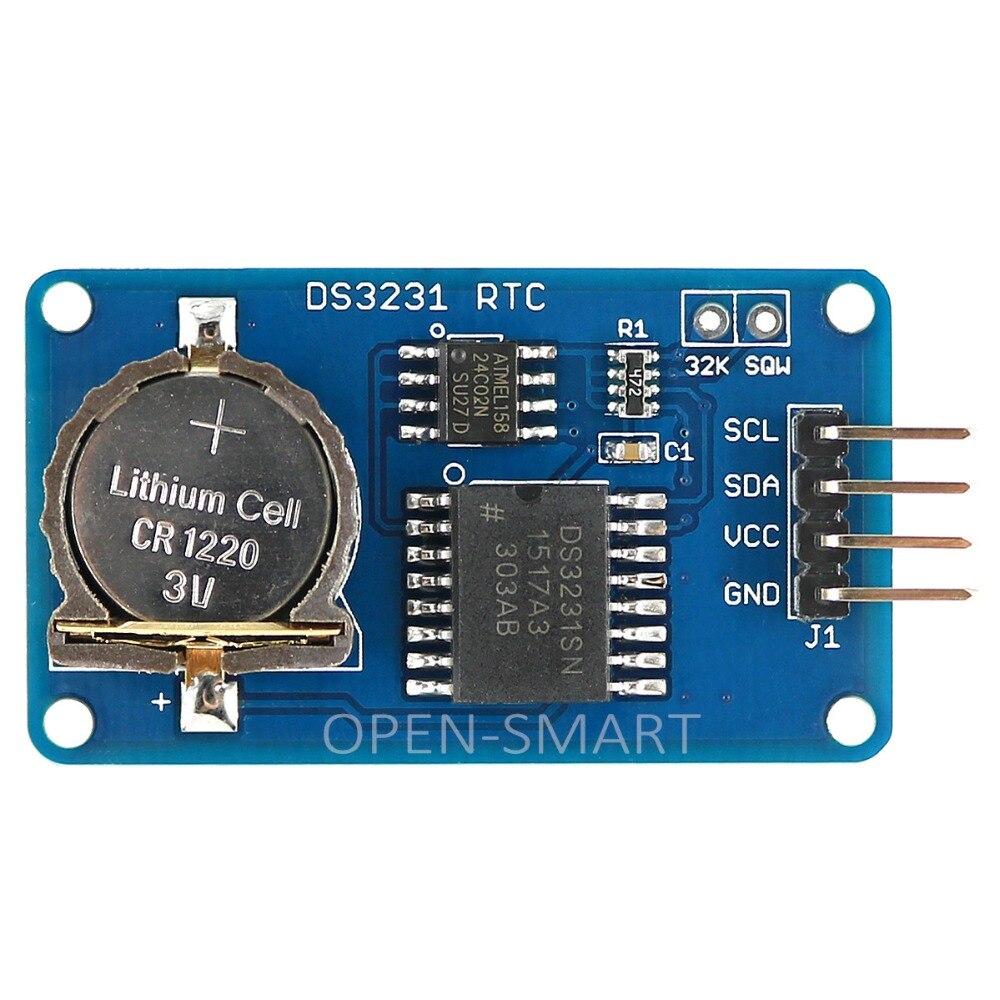 Модуль DS3231 RTC с высокоточным AT24C02 EEPROM и интерфейсом I2C, модуль часов в режиме реального времени для Arduino