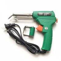 1 STKS 220 V 60 W Lassen Elektrische Soldeerbout Gun Auto Lassen Soldeerbout Milieu Gereedschap Met Heatproof cove