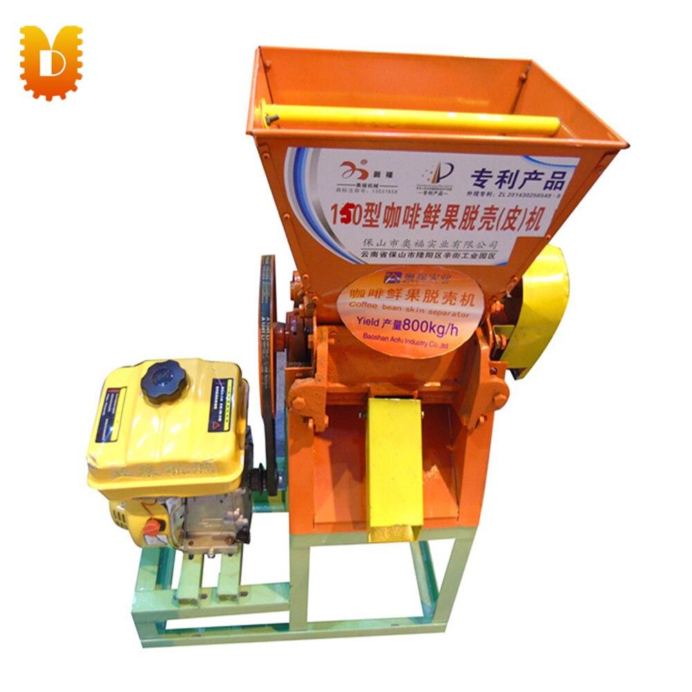 UDKF180-800 Fresh coffee bean Peeling machine with engine