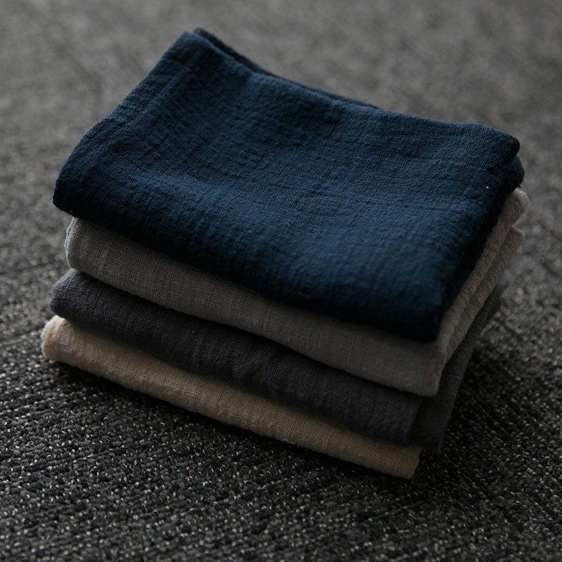 Junwell 2pcs/lot 45x60cm Cotton / Linen Dishtowel Kitchen Towel Dish Towel Cleaning Cloth Tea Towel Ultra Durable Pano