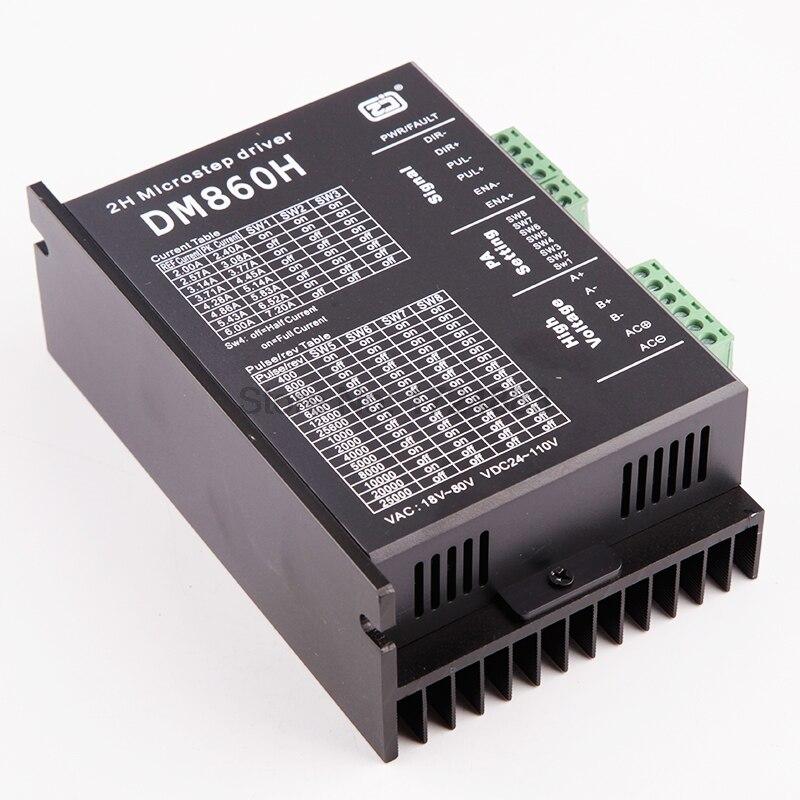 Stepper Motor Driver Cintroller Dm860h Microstep Motor