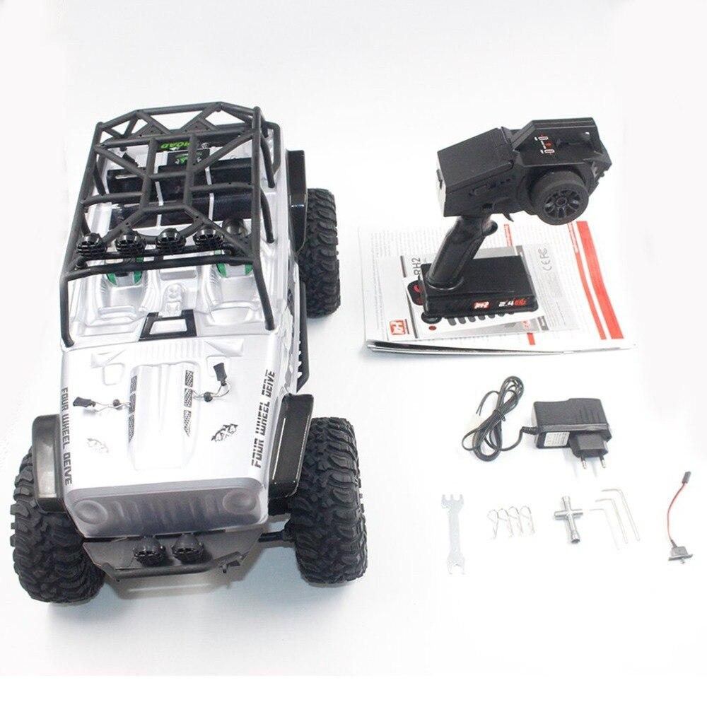 Remo 1073-SJ 1/10 2.4 GHz 550 brossé RC voiture tout-terrain camion roche chenille RTR automatique véhicule jouets voiture pour enfants cadeau