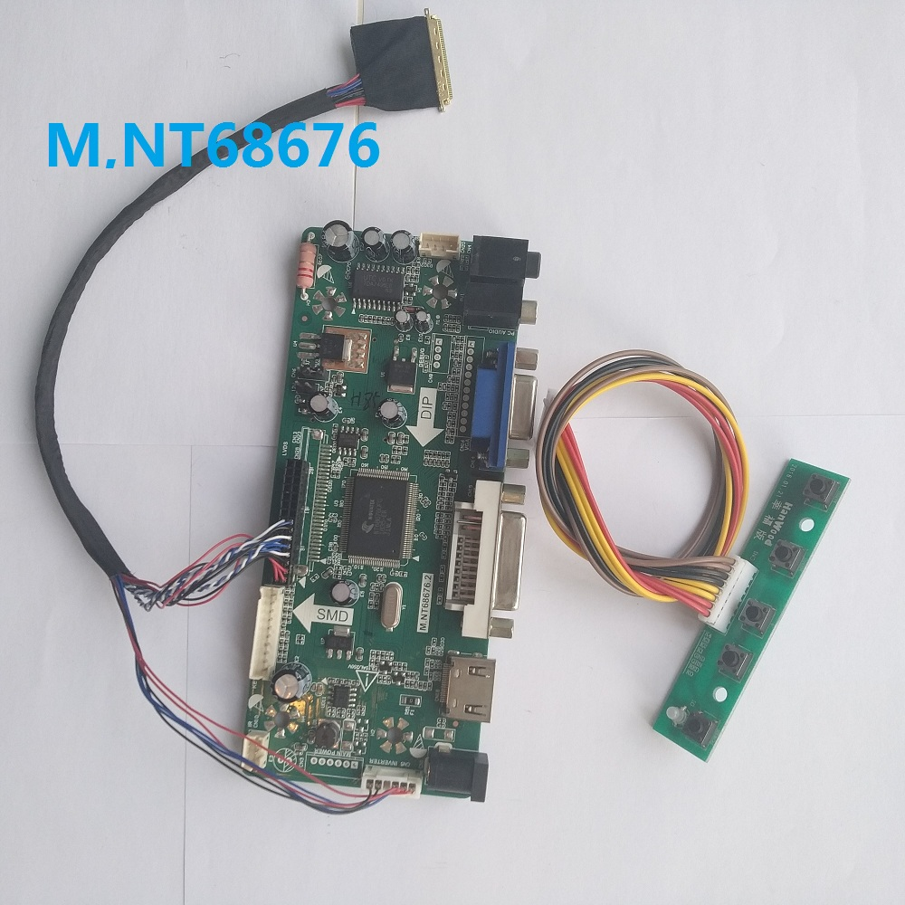 HDMI+DVI+VGA LCD Lvds Controller Board Kit for Panel LM230WF5 D1 1920x1080 TL