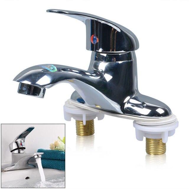 Good Service Kitchen Bathroom Basin Faucet 1 Handle 2 Holes Vanity Sink  Mixer Tap 2 Holes