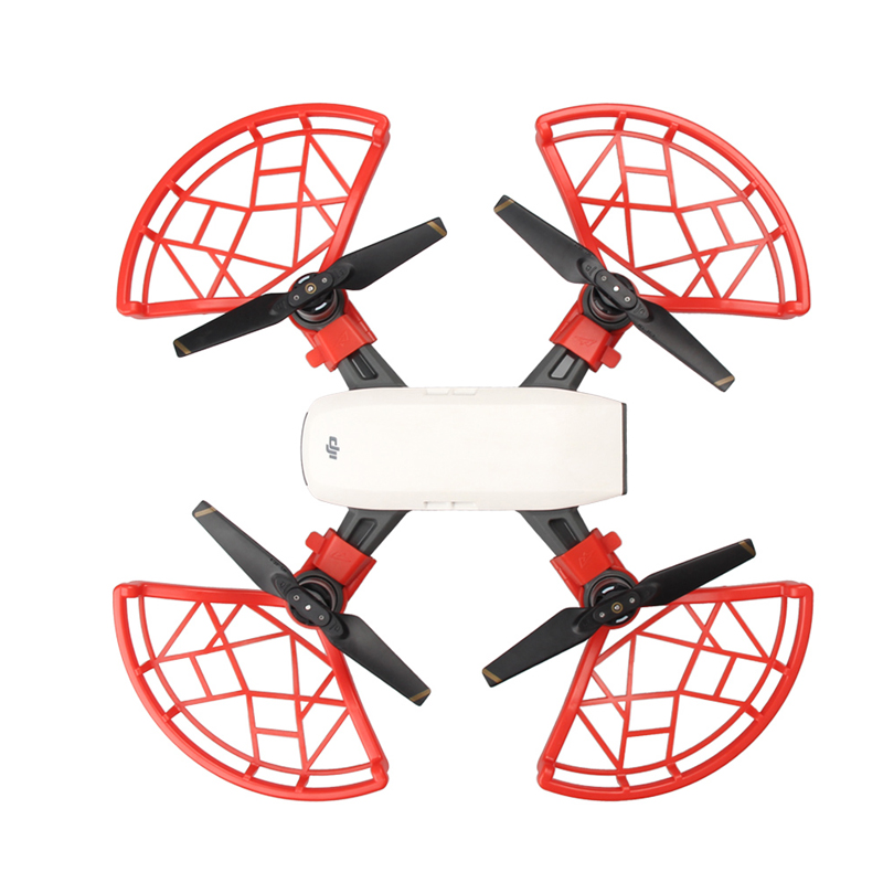 5 Pcs Propeller Guard protection ring Blade Flight protective cover For DJI SPARK Spare parts Accessories  1 (5)