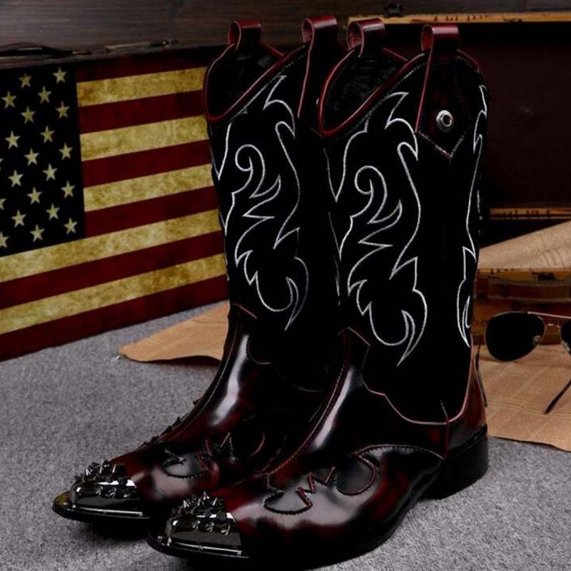 Cyabmoz nuevas botas de tobillo de cuero genuino Zapatos de vestir ... 393ac4d6e26