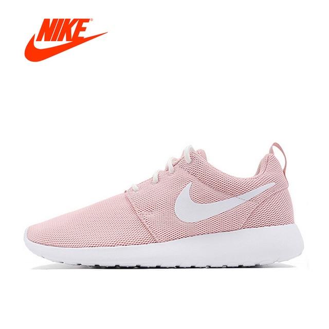 7ec2f65c1eea ... best original nike roshe run one breathable womens nike pink running  shoes sports sneakers classic outdoor