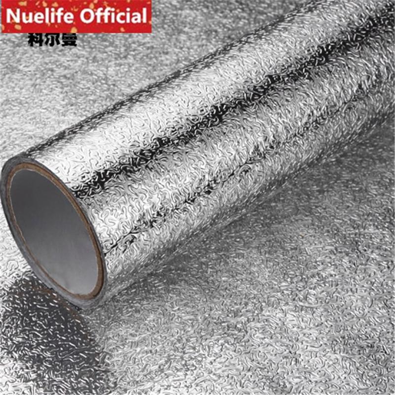 NEU Kitchen Oilproof Sticker High Temperature Waterproof Aluminum Foil Paper