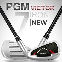 2019 Nuovo Arrivo PGM Golf clubs di Carbonio/Acciaio Inox Pratica Pole Aste di Spinta Chipping Golf Club di Golf Putter/Driver di Golf no. 7 Ferri Da Stiro