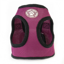Adjustable Soft Mesh Small Dog Harness Vest