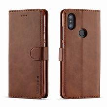 Cases Wallet Phone-Bag A2lite Vintage Xiaomi Mi Flip for Cover Luxury Magnet Coque