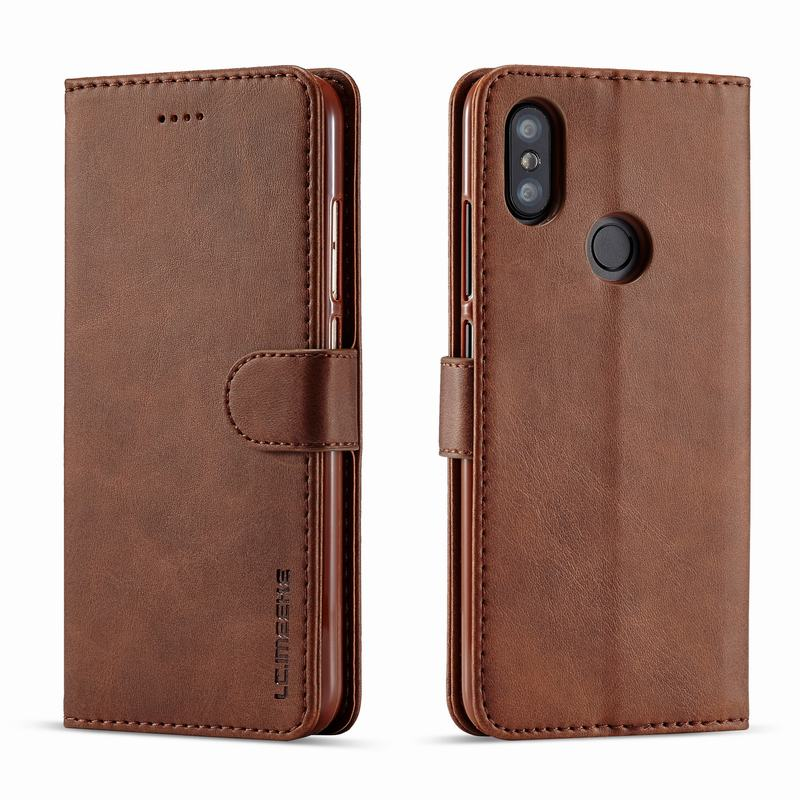 Cases For Xiaomi Mi A2 Lite Case Cover Luxury Vintage Wallet Magnetic Flip Leather Phone Bags For Xiomi Redmi Mi A 2 Lite Coque
