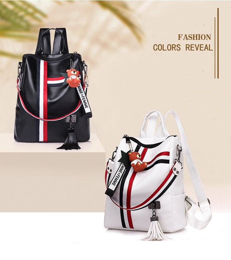 2018 New Retro Fashion Ladies Backpack