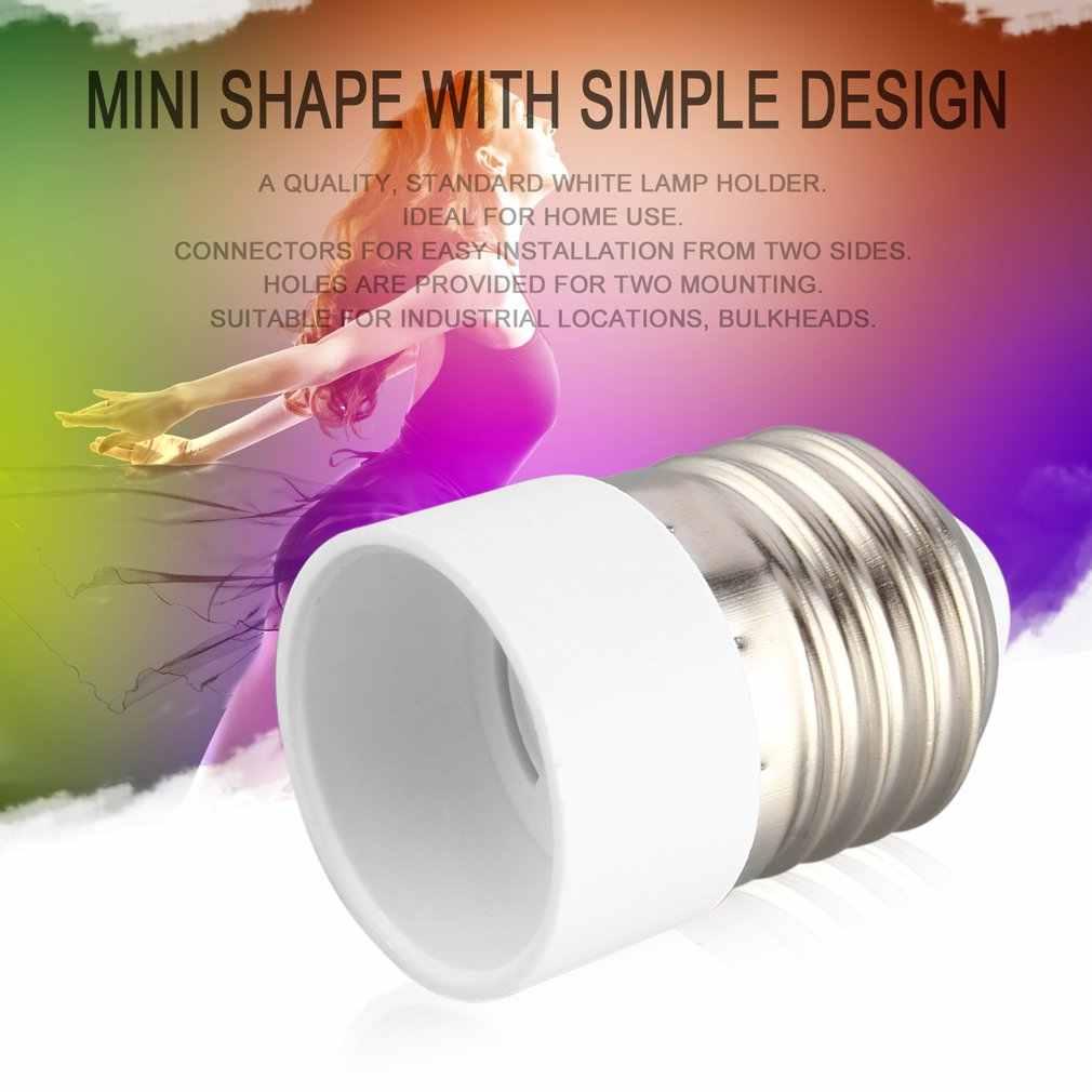High E27 to E14 Socket Light Bulb Lamp Holder Adapter Plug Extender Lampholder UEJ
