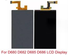 10Pcs/lot 5.5'' For LG G Pro Lite D680 D682 and D685 D686 LCD Display+Touch Screen Digitizer Sensor Outer Glass Lens Panel(China)