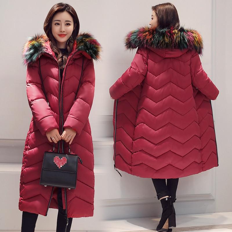 Adibo Manteau Femme Parka Long Winter Jacket Women Winter Coat Plus Size With Fur Collar Womens Winter Jackets And Coats 012 цены онлайн