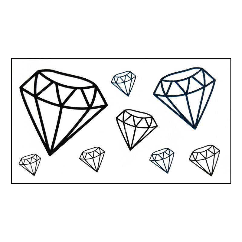 Diamond Tattoo Flash Daily Motivational Quotes