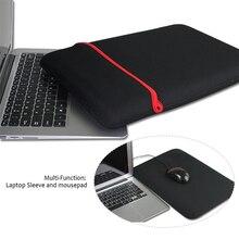 11ae9dfb1f80b Evrensel yumuşak Laptop Notebook Tablet astar kollu kılıf çanta için iPad  7/8/9/9.7/10/ 12/13/14/15/