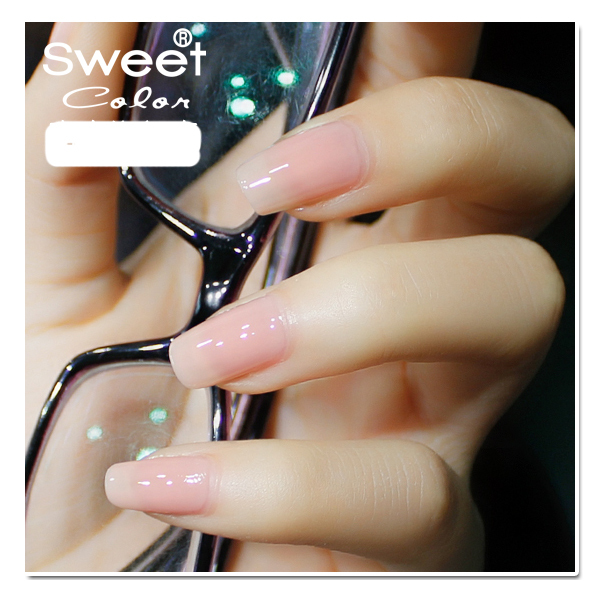 Sweet Color Nail Polish Environmental Protection S338 Pink Natural ...