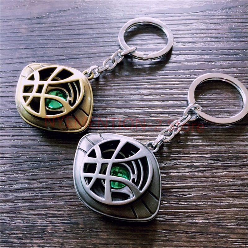 200PCS Avengers Alliance Doctor Strange necklace Doctor Strange with the same accessories Keychain Of Key Chain Movie Gifts