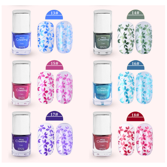 Nail Art Stamping Polish